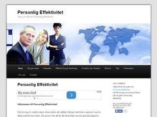 personligeffektivitet.eu