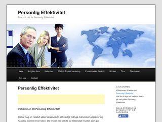 personligeffektivitet.info