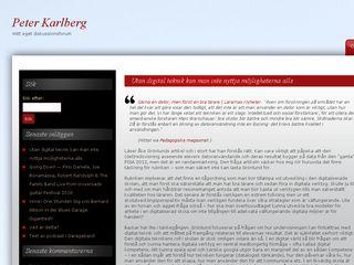peter.karlberg.org