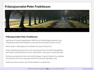 peterfredriksson.se