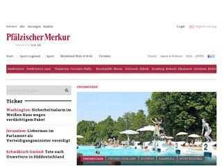 Preview of pfaelzischer-merkur.de
