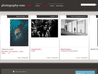 Preview of photography-now.com