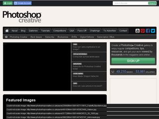 Preview of photoshopcreative.co.uk