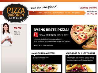 pizzabaronen.no
