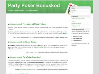 pokerparty.nu