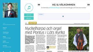 pontuseriksson.com