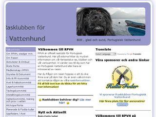 portugisisk-vattenhund.se