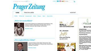 pragerzeitung.cz