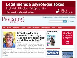 Preview of psykologtidningen.se