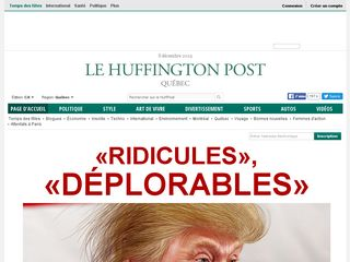 Preview of quebec.huffingtonpost.ca