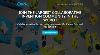 Preview of quirky.com