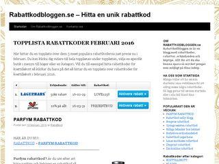 rabattkodbloggen.se