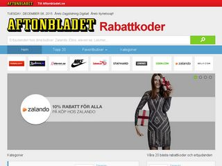 rabattkoder.aftonbladet.se