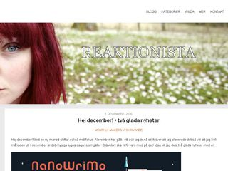 Earlier screenshot of whitemonday.se