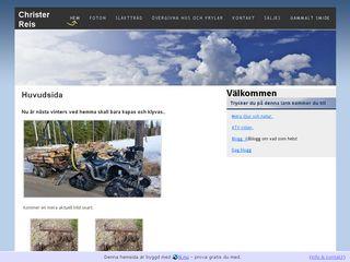 Earlier screenshot of reis.n.nu