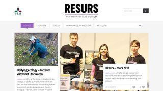 resurs.slu.se