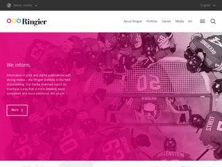 Preview of ringier.com