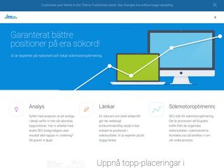 Earlier screenshot of rocketdigital.se