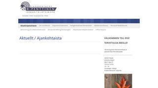 rpenttinen.fi