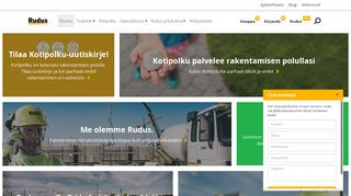 Preview of rudus.fi