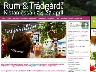 Earlier screenshot of rumochtradgard.se