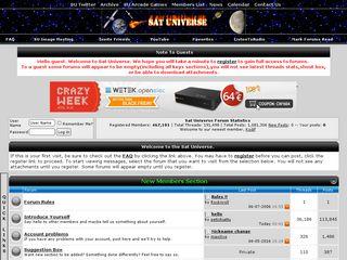 sat-universe com | Domainstats com