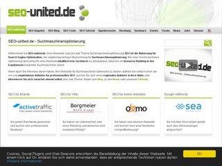 Earlier screenshot of seo-united.de