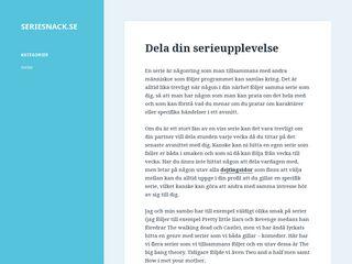 seriesnack.se