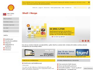 Preview of shell.no