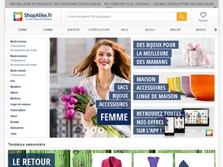 Preview of shopalike.fr