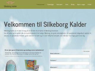 Earlier screenshot of silkeborgkalder.dk
