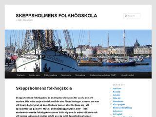skeppsholmensfolkhogskola.se