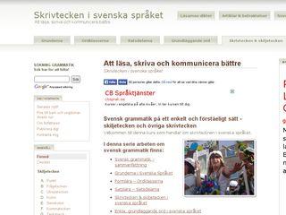 skiljetecken.se
