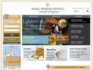 smalldanishhotels.dk