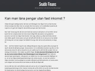 snabb-finans.se
