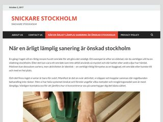 snickarestockholm.info
