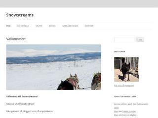 snowstreams.se