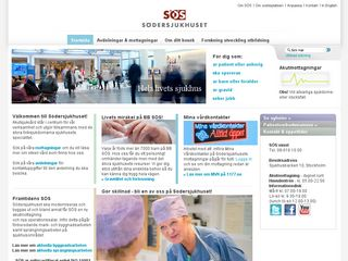 sodersjukhuset.se