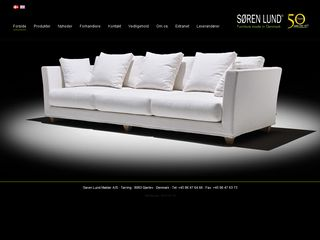 Earlier screenshot of soeren-lund.dk