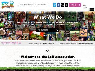 Preview of soilassociation.org