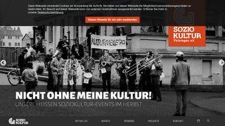 soziokultur-thueringen.de