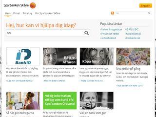 Preview of sparbankenskane.se