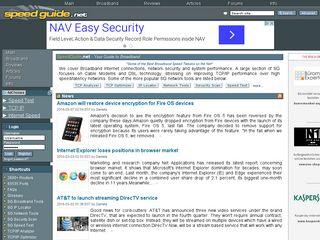 speedguide net | Domainstats com