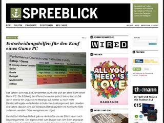 Preview of spreeblick.com