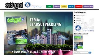 stadsbyggnad.org