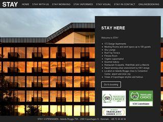 Earlier screenshot of staycopenhagen.dk