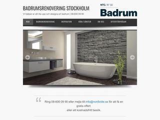 Earlier screenshot of stockholmsbadrumsrenovering.se