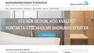 stockholmsbadrumsrenovering.se