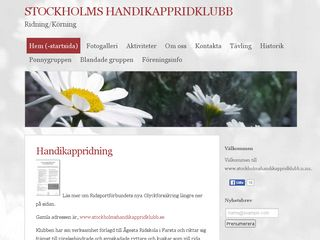 stockholmshandikappridklubb.n.nu