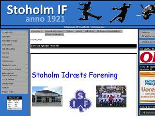 Earlier screenshot of fjendscup.dk